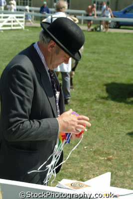 yorkshire judge winner rosettes north east england northeast english uk great britain united kingdom british