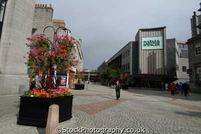 aberdeen st nicholas shopping centre uk centres retailers trade centers commercial buildings british architecture architectural aberdeenshire scotland scottish scotch scots escocia schottland great britain united kingdom