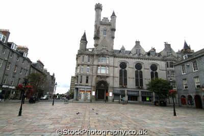 aberdeen salvation army citadel castlegate british architecture architectural buildings uk aberdeenshire scotland scottish scotch scots escocia schottland great britain united kingdom