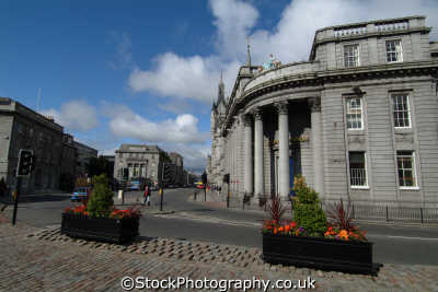 aberdeen bank north scotland uk banks commercial buildings retailers british architecture architectural aberdeenshire scottish scotch scots escocia schottland great britain united kingdom