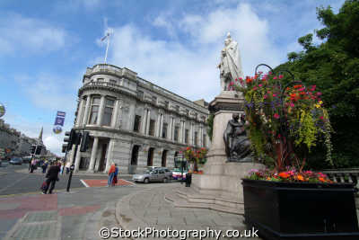 aberdeen edward vii statue monkey house union street uk statues british architecture architectural buildings aberdeenshire scotland scottish scotch scots escocia schottland great britain united kingdom