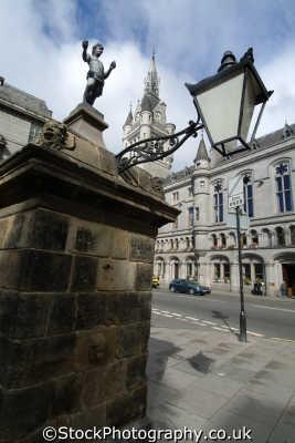 aberdeen castlegate wardhouse tower uk towns environmental aberdeenshire scotland scottish scotch scots escocia schottland great britain united kingdom british