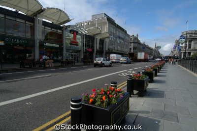 aberdeen union street trinity shopping centre uk towns environmental aberdeenshire scotland scottish scotch scots escocia schottland great britain united kingdom british