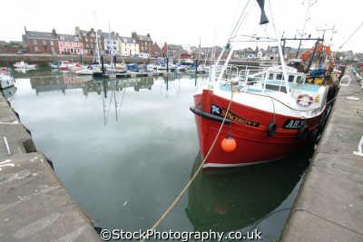 arbroath harbour fishing boats harbor uk coastline coastal environmental angus scotland scottish scotch scots escocia schottland great britain united kingdom british