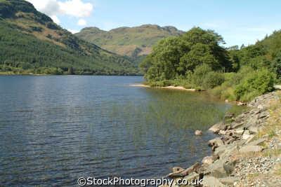 loch eck scottish lochs british lakes countryside rural environmental uk dunoon argyll bute argyllshire scotland scotch scots escocia schottland great britain united kingdom