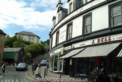 dunoon high street uk towns environmental argyll bute argyllshire scotland scottish scotch scots escocia schottland great britain united kingdom british