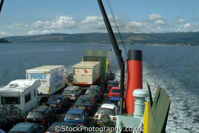 calmac car ferry firth clyde boats marine misc. dunoon argyll bute argyllshire scotland scottish scotch scots escocia schottland great britain united kingdom british