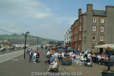 largs seafront uk coastline coastal environmental promenade ayrshire scotland scottish scotch scots escocia schottland great britain united kingdom british