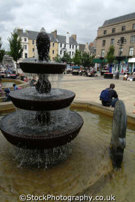 dundee city square uk towns environmental fountain cascade angus scotland scottish scotch scots escocia schottland great britain united kingdom british