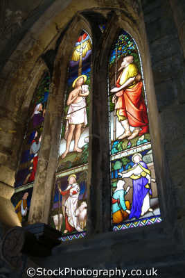 dunfermline abbey stained glass window uk abbeys churches worship religion christian british architecture architectural buildings fife scotland scottish scotch scots escocia schottland great britain united kingdom