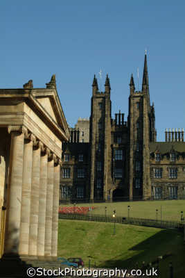edinburgh old town national gallery uk museums british architecture architectural buildings midlothian central scotland scottish scotch scots escocia schottland great britain united kingdom