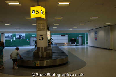 edinburgh airport arrivals lounge luggage reclaim carousel uk airports aviation airfield aircraft transport transportation baggage midlothian central scotland scottish scotch scots escocia schottland great britain united kingdom british