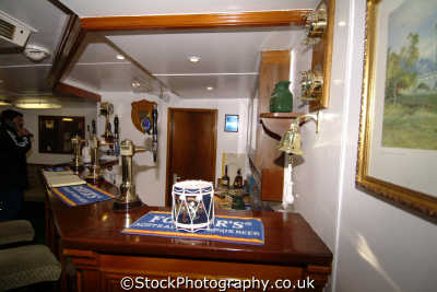royal yacht britannia chief petty officers mess boats marine misc. ocean terminal leith edinburgh midlothian central scotland scottish scotch scots escocia schottland great britain united kingdom british