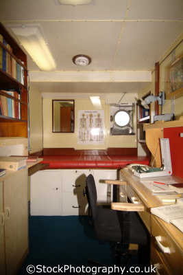 royal yacht britannia physicians consulting room boats marine misc. ocean terminal leith doctor edinburgh midlothian central scotland scottish scotch scots escocia schottland great britain united kingdom british