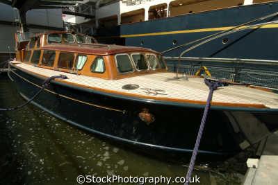 royal yacht britannia launch boats marine misc. ocean terminal leith edinburgh midlothian central scotland scottish scotch scots escocia schottland great britain united kingdom british