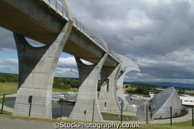 falkirk wheel uk theme parks amusement tourist attractions leisure stirlingshire scotland scottish scotch scots escocia schottland great britain united kingdom british