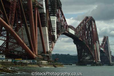 forth bridge uk bridges rivers waterways countryside rural environmental rail fife scotland scottish scotch scots escocia schottland great britain united kingdom british