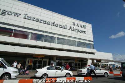 glasgow international airport uk airports aviation airfield aircraft transport transportation central scotland scottish scotch scots escocia schottland great britain united kingdom british