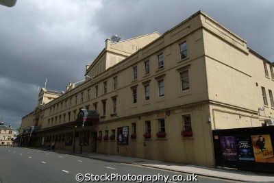 glasgow theatre royal uk theatres theater theatrical venues british architecture architectural buildings central scotland scottish scotch scots escocia schottland great britain united kingdom