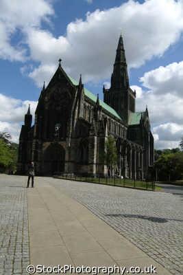 glasgow cathedral uk cathedrals worship religion christian british architecture architectural buildings central scotland scottish scotch scots escocia schottland great britain united kingdom