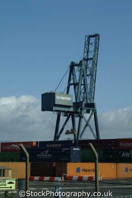 greenock clydeport docks uk coastline coastal environmental container port cranes inverclyde scotland scottish scotch scots escocia schottland great britain united kingdom british