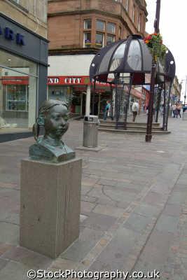 hamilton town centre uk towns environmental lanarkshire scotland scottish scotch scots escocia schottland great britain united kingdom british