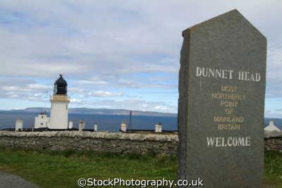 dunnet head caithness sign saying northerly point mainland britain uk coastline coastal environmental highlands islands scotland scottish scotch scots escocia schottland great united kingdom british