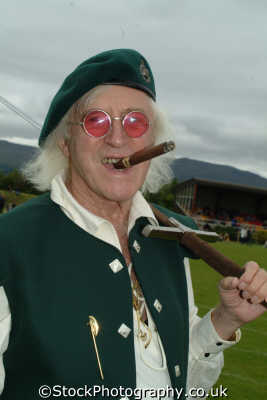 sir jimmy saville cigar tv television celebrities celebrity fame famous star people persons james fort william highlands islands scotland scottish scotch scots escocia schottland great britain united kingdom british