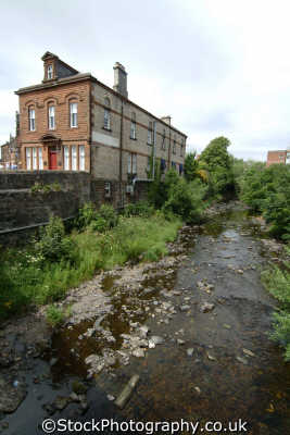 kilmarnock river town centre uk rivers waterways countryside rural environmental ayrshire scotland scottish scotch scots escocia schottland great britain united kingdom british