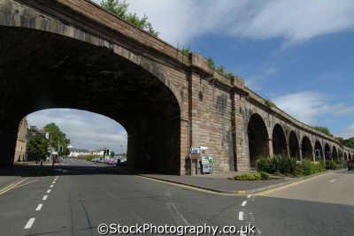 kilmarnock railway viaduct uk towns environmental arches ayrshire scotland scottish scotch scots escocia schottland great britain united kingdom british