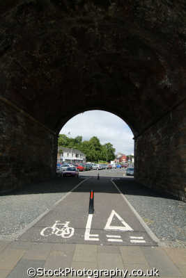 kilmarnock cycle lanes uk towns environmental arches ayrshire scotland scottish scotch scots escocia schottland great britain united kingdom british