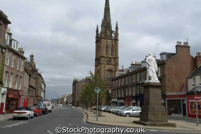 montrose town centre uk towns environmental angus scotland scottish scotch scots escocia schottland great britain united kingdom british