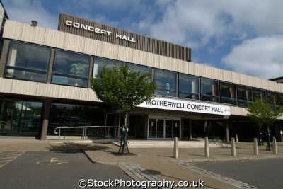 motherwell concert hall uk theatres theater theatrical venues british architecture architectural buildings lanarkshire scotland scottish scotch scots escocia schottland great britain united kingdom