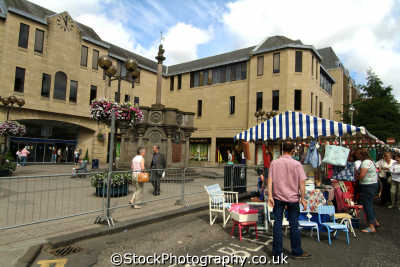 perth open air market uk markets traders commercial buildings retailers british architecture architectural kinross perthshire scotland scottish scotch scots escocia schottland great britain united kingdom