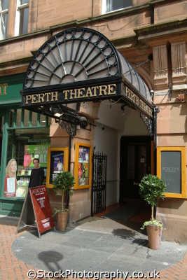 perth theatre uk theatres theater theatrical venues british architecture architectural buildings kinross perthshire scotland scottish scotch scots escocia schottland great britain united kingdom