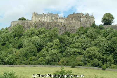 stirling castle hill scottish castles british architecture architectural buildings uk stirlingshire scotland scotch scots escocia schottland great britain united kingdom