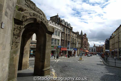 stirling athenaeum word loyalty engraved arch uk towns environmental stirlingshire scotland scottish scotch scots escocia schottland great britain united kingdom british