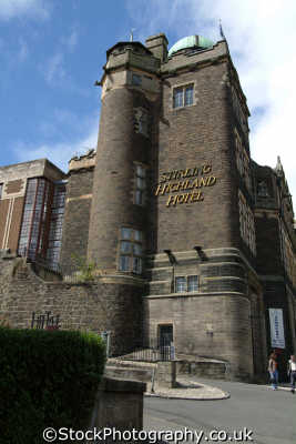 stirling highland hotel uk towns environmental accomodation stirlingshire scotland scottish scotch scots escocia schottland great britain united kingdom british