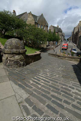stirling bow street mary wynd uk towns environmental stirlingshire scotland scottish scotch scots escocia schottland great britain united kingdom british