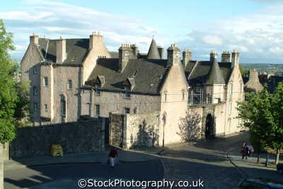 stirling castle wynd uk towns environmental stirlingshire scotland scottish scotch scots escocia schottland great britain united kingdom british