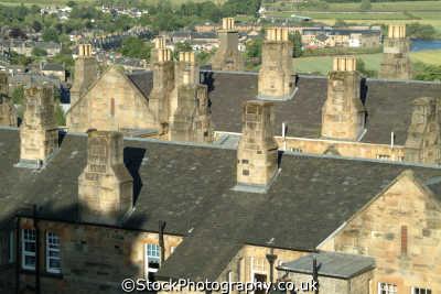 stirling rooftops uk towns environmental tiles stirlingshire scotland scottish scotch scots escocia schottland great britain united kingdom british
