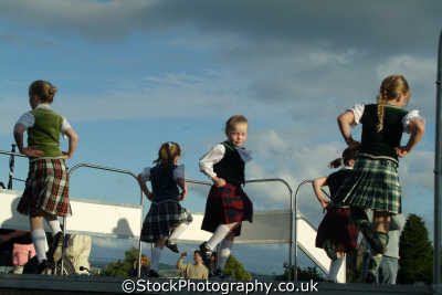 children highland dancing human activities people persons stirling stirlingshire scotland scottish scotch scots escocia schottland great britain united kingdom british