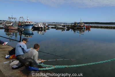 poole harbour fishing quay harbor uk coastline coastal environmental dorset england english great britain united kingdom british