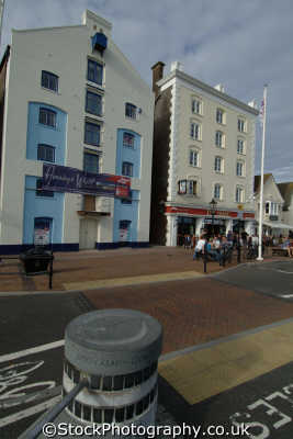 poole buildings quay seafront uk coastline coastal environmental dorset england english great britain united kingdom british