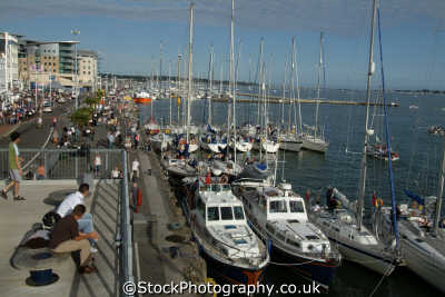 poole quay marina uk coastline coastal environmental dorset england english great britain united kingdom british