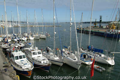 poole harbour visitor berths marina uk coastline coastal environmental moorings dorset england english great britain united kingdom british