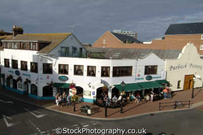 poole quay seafront uk coastline coastal environmental dorset england english great britain united kingdom british