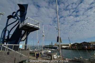 poole harbour caro sculpture quay uk statues british architecture architectural buildings dorset england english great britain united kingdom