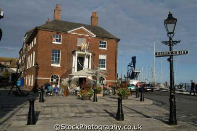 poole old customs house seafront uk coastline coastal environmental dorset england english great britain united kingdom british