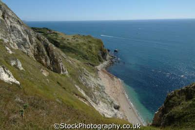 st oswald bay dorset uk coastline coastal environmental england english great britain united kingdom british